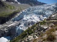 Seraccata terminale ghiacciaio dell'Argentiere